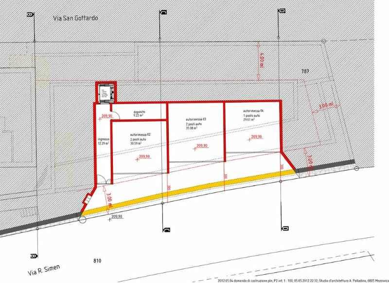 Baupläne der schweizer Immobilien - Speerli Immobilien Tessin